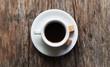 café et sucre brun