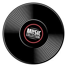 Gramophone Vinyl Record With L...