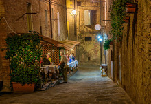 Medieval Narrow Cozy Street Wi...