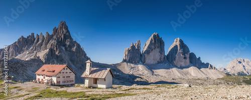 Fotografie, Tablou  Drei Zinnen, Dolomiten, Italien