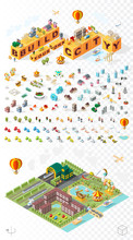 Build Your Own City . Set Of I...