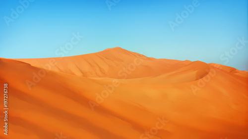 Foto auf AluDibond Ziegel Empty Quarters in Oman and Saudi Arabia