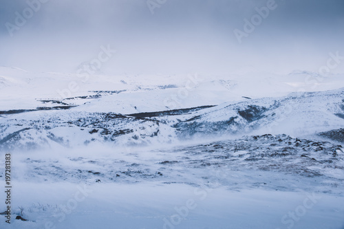 Fototapety, obrazy: Winter Adventure in Thorsmörk, Island