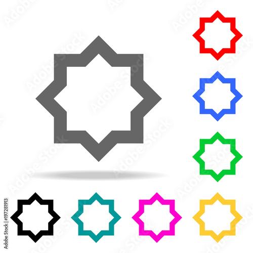 Elements Of Religion Multi Colored Icons Premium Quality Graphic