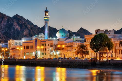 Muttrah Corniche, Muscat, Oman Wallpaper Mural