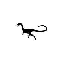Compsognathus Icon. Elements O...