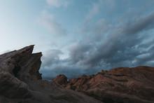 Blue Hour At Vasquez Rocks