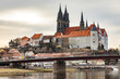 Church and castle landmark of Meissen