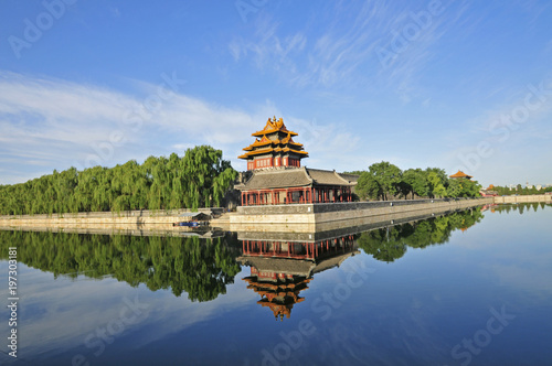 Foto op Aluminium Beijing Beijing the imperial palace watchtower