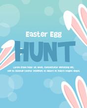 Happy Easter Egg Celebration Poster