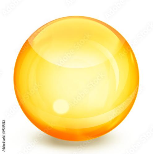 Fotografía  yellow sphere