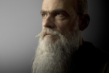 A Bearded Mature Male Portrait