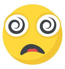 Flat Emoji Icon Design With Sp...