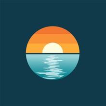 Sun Sea Landscape