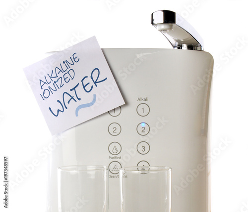Photo Alkaline Ionized Water