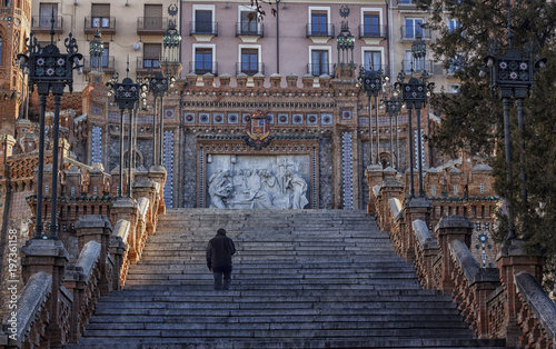 stairs in the city of teruel