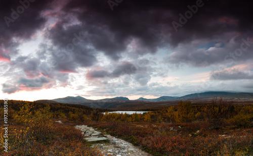 Foto op Plexiglas Chocoladebruin Norway highlands