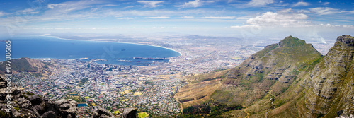 Poster Afrique du Sud Cape Town