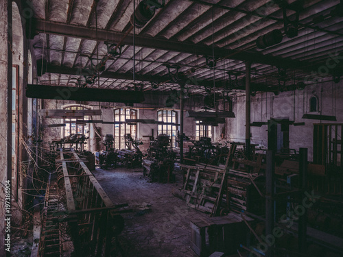 Room in old factory