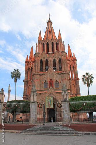 Parroquia de San Miguel Arcángel San Miguel de Allende Mexico #197393519