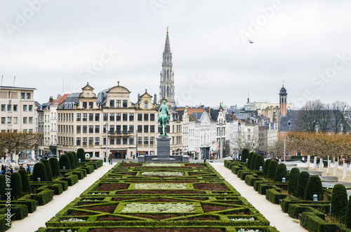 Foto op Canvas Brussel Mont des Arts in Brussels