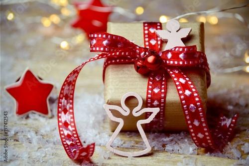 Weihnachten - Weihnachtsgeschenke - Geschenke Slika na platnu