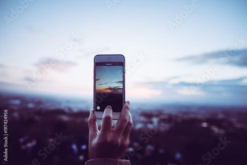 スマートフォン 風景写真