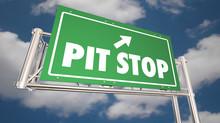 Pit Stop Take Break Freeway Ro...