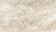 White Soft Wool Texture Backgr...