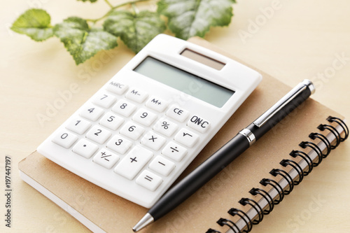 Photo 電卓 ビジネス 家計 Calculator business household image