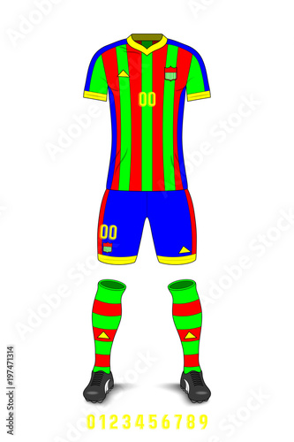 Soccer Uniforms Template