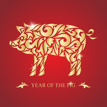 The Year Of The Pig. Happy New...