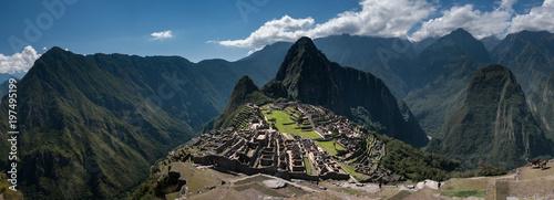 Photo  machu picchu panorama