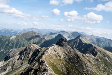 Tatra Mountains Panorama From ...