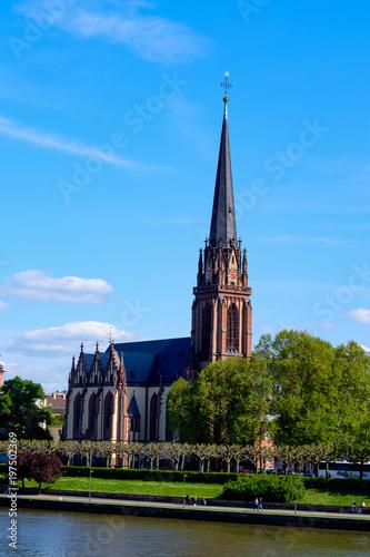 Recess Fitting Temple Dreikönigskirche in Frankfurt/Main