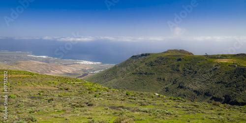 landscape of Lanzarote, Canary Islands