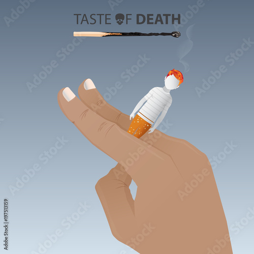 May 31st World No Tobacco Day Banner No Smoking Day Awareness Poster Smoking Is Harmful To Children Cigarette Causes Of Cancer Vector Illustration Buy This Stock Vector And Explore Similar Vectors
