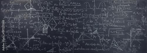 Foto classic slate blackboard