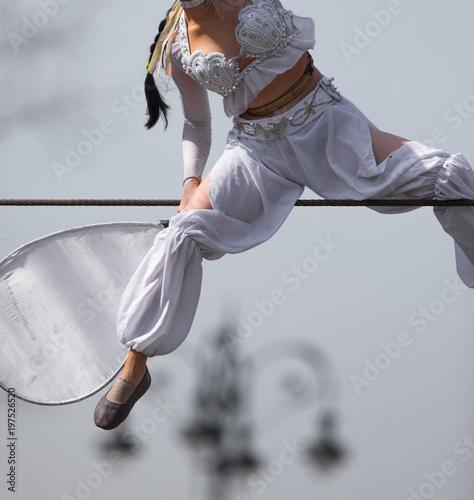 Fotografía The girl the tightrope walker