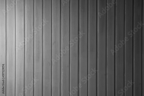 Drewniana ściana z boazerii