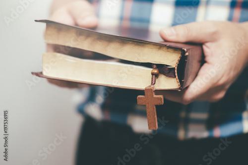 Fotografie, Obraz  Religion Christianity concept background.