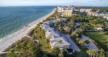 Aerial View Of Naples Beach, F...