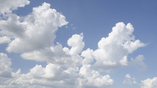 View Of Fluffy Clouds