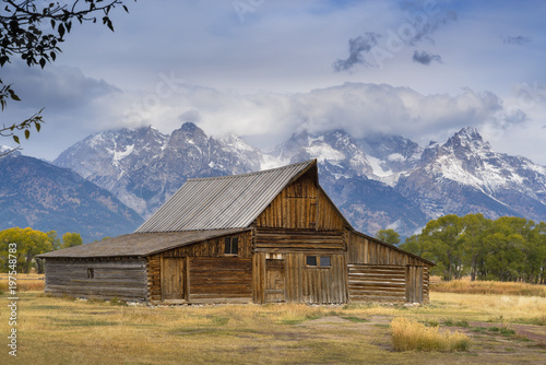 Moulton Barn, Grand Teton National Park, Wyoming, USA - 197548783