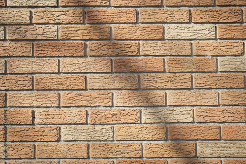 Shadow on brick wall - 197549194