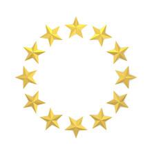 Stars In A Circle Shape