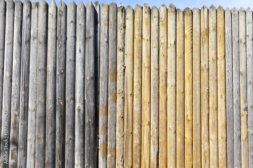 Wooden fence Wallpaper Mural