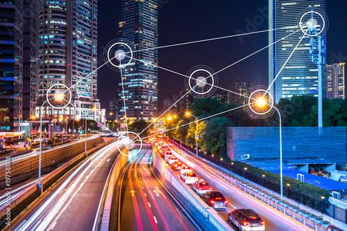 Fotografía  smart city icon