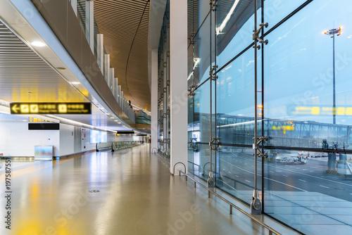 Chongqing airport terminal Tableau sur Toile