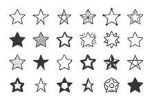 Hand Drawn Stars